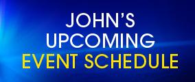 John's Event Schedule