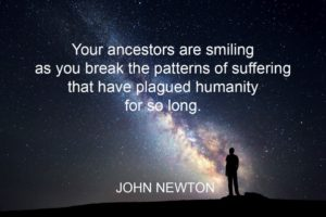john newton - ancestors are smiling